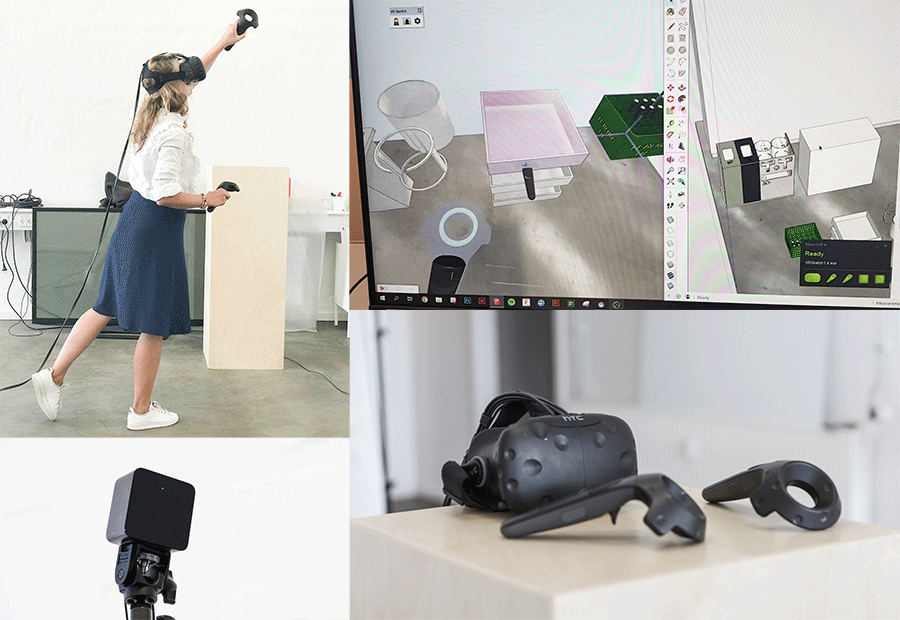 Stykka clients using VR Sketch to design and demo furniture in virtual reality